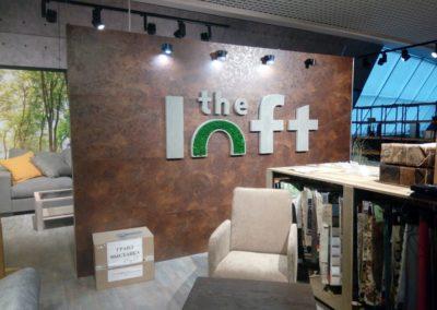 фитобуквы the Loft г. Москва
